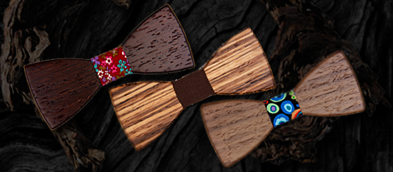 Wooden 2D Bow Tie